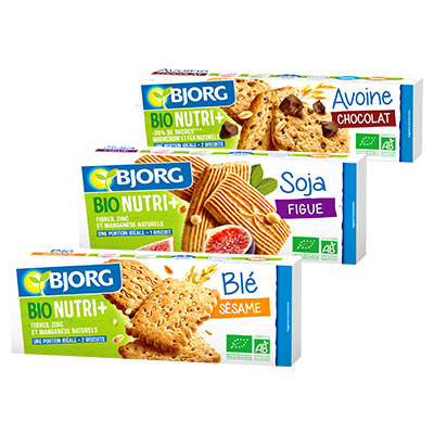 Bons de réduction Bjorg Bio Nutri +