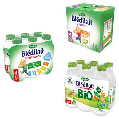 Coupon réduction Blédilait Croissance, Croissance Bio et Junior