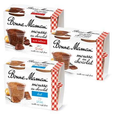Coupon réduction Bonne Maman – Mousse au chocolat