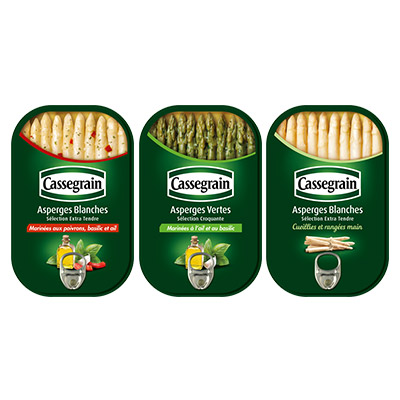 Coupon réduction Cassegrain Asperges