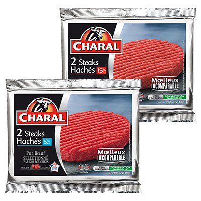 Coupon réduction Charal Hebdopack