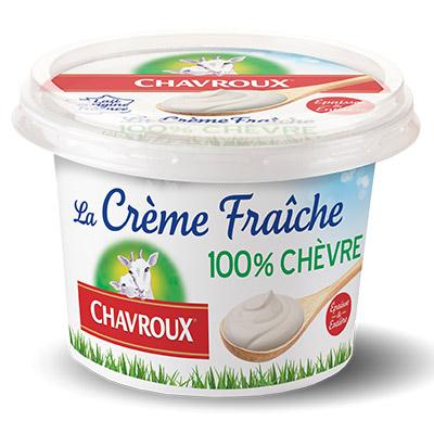 Coupon réduction CHAVROUX – Crème Fraîche 100% Chèvre
