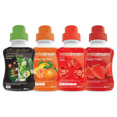 Coupon réduction Concentrés Sodastream