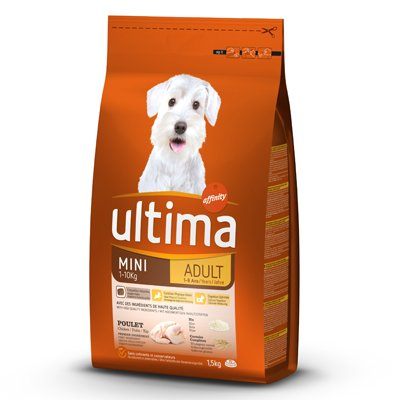Coupon réduction Croquettes Ultima chien Mini