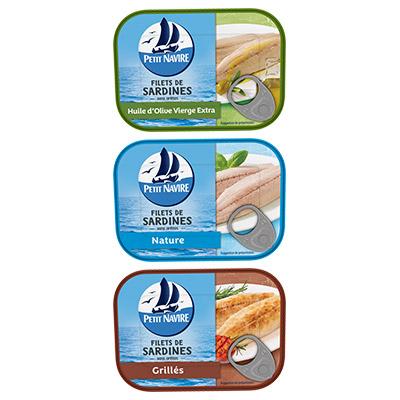 Coupon réduction Filets de Sardines Petit Navire