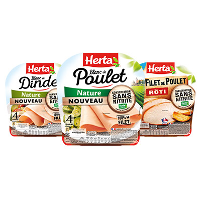 Bons de réduction HERTA® Blancs et filets de volaille Conservation Sans Nitrite