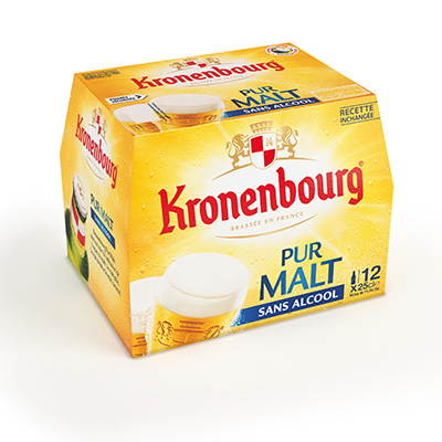 Coupon réduction Kronenbourg Pur Malt sans Alcool x12