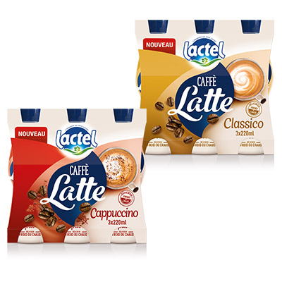 Bons de réduction Lactel Caffè Latte