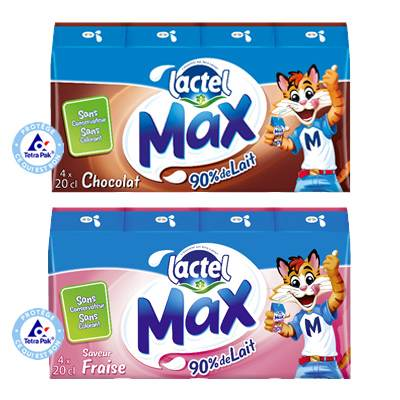 Coupon réduction Lactel Max
