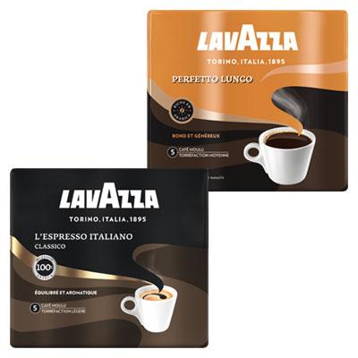 Coupon réduction Lavazza Moulu