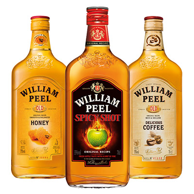 Bons de réduction Liqueurs de whiskies William Peel