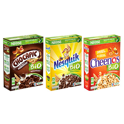 Coupon réduction NESTLE Céréales Bio