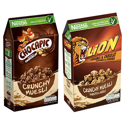Coupon réduction NESTLE Crunchy Muesli/Granola