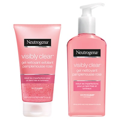 Coupon réduction Neutrogena® visibly clear® pamplemousse rose