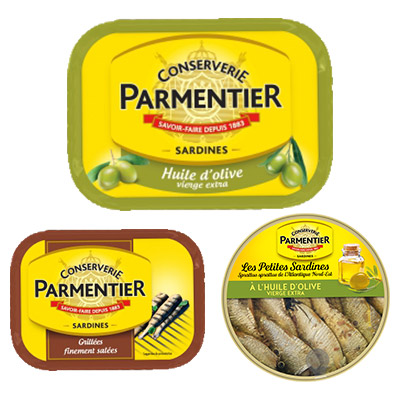 Bons de réduction Parmentier - Sardines