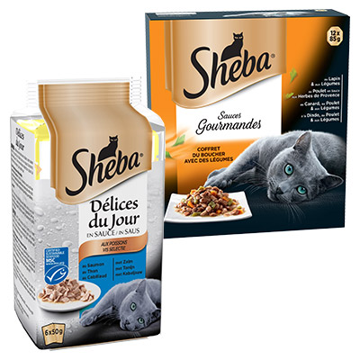 Bons de réduction Sheba®