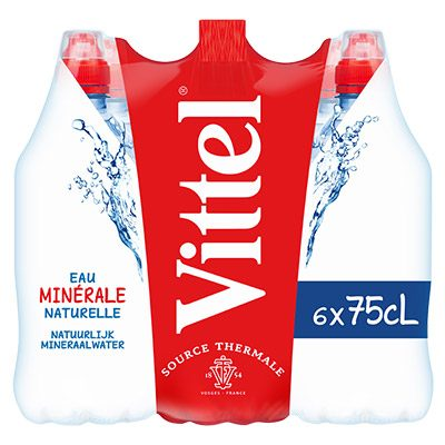 Coupon réduction Vittel® 6x75cL