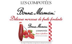 Coupon réduction Bonne Maman - Pack de Compotées 2x130g