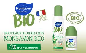 Coupon réduction Déodorant Monsavon® Bio