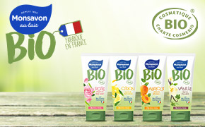 Coupon réduction Monsavon Gel Douche Bio