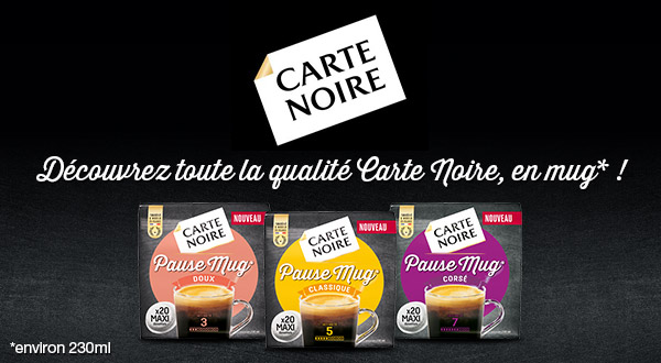 Reduction Sur Cafe Carte Noire