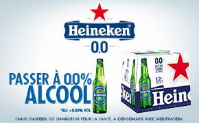 Coupon réduction HEINEKEN 0.0