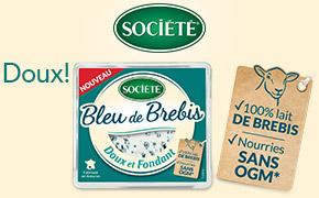Coupon réduction Bleu de Brebis Société 110g
